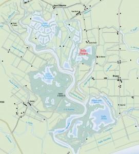 mappa valle perera