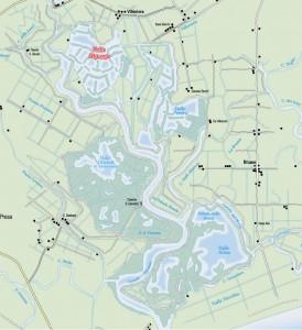 mappa valle zignago